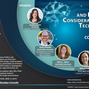 flier for 2019 ETHICS & BROADER CONSIDERATIONS OF TECH