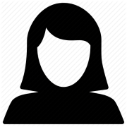 picture of generic woman icon